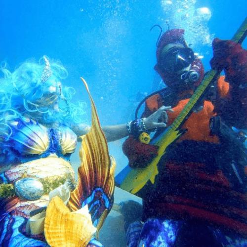 El Festival de Música Subacuático en Florida busca generar conciencia ecológica