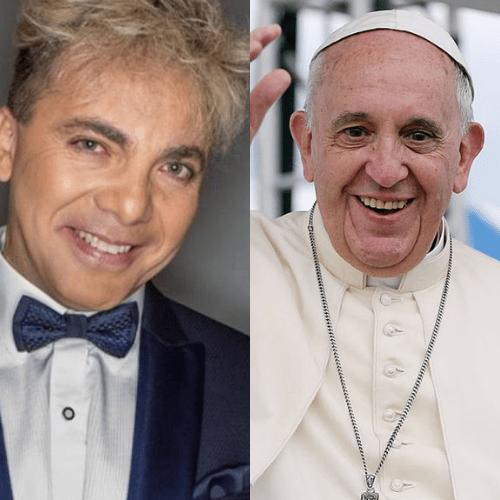 Cristian Castro graba en Italia tema escrito por el Papa Francisco